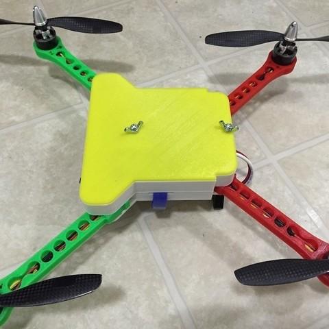 Download free 3D printer designs Folding Quadcopter, CVMichael