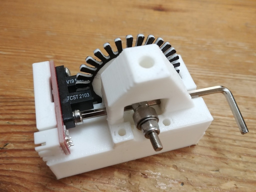 6095497efec7e7aa098737865f2098d3_display_large.jpg Télécharger fichier STL gratuit Capteur optique à filament - pour filament de 1,75mm • Objet pour imprimante 3D, CVMichael