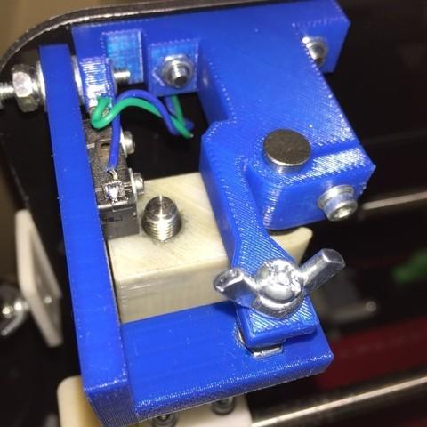 Free STL Mendel90 Z Manual Adjust, CVMichael
