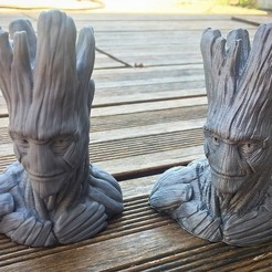 Download free 3D model Grout, Groot's borther, Polysculpt