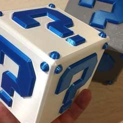 Descargar archivos 3D gratis Mario LuckyBox, Polysculpt