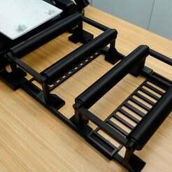 rollers.jpg Télécharger fichier STL gratuit CR-30 / Imprimerie 3D Rouleaux modulaires • Plan pour impression 3D, Polysculpt