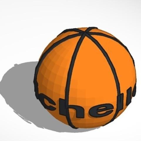Download free STL file Basketball, mcmejia3q