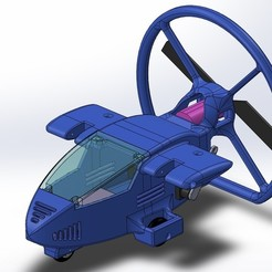 Paramoteur_Faz2.2.jpg Télécharger fichier STL gratuit Paramoteur RC • Design pour imprimante 3D, ZebOctets