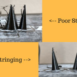 Poor vs Good Stringing.png Download free STL file Stringing Test • 3D printing object, AnsonB