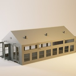 3 Point Studio Setup.jpg Download STL file Modern N locomotive workshop • Design to 3D print, jeanmichelp
