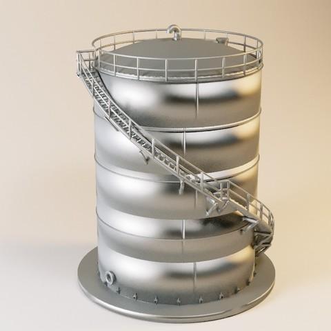 Free STL files Tanker 800M2 HO, jeanmichelp