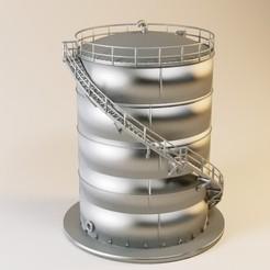 citerne 800m2.jpg Download free STL file Tanker 800M2 HO • 3D printing design, jeanmichelp