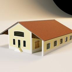 Impresiones 3D Sala de Mercancías 5 puertas plm, jeanmichelp