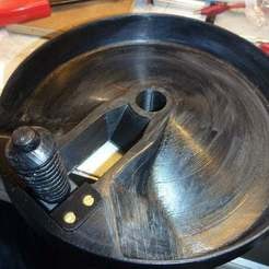 Download free STL file Trim wheel 737 diameter 200mm, snip-83