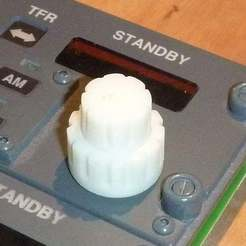 Download free STL file Button for a double encoder • Object to 3D print, snip-83