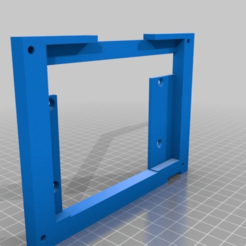 Download free STL file Engravity CDU 5-inch display stand, snip-83