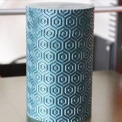 Free 3D model Cylinder textured box, clivebradshaw