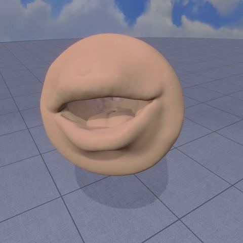 3D printer models fleshlight mouth, Darkas2