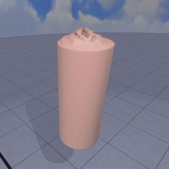 3D print model fleshlight vagina with texture, Darkas2