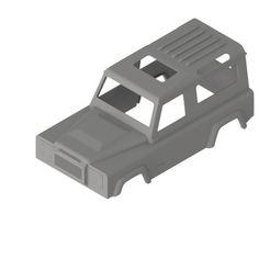 CARROCERIA 1 r.jpg Download STL file LAND ROVER RC stl • Design to 3D print, andresvasquez1201