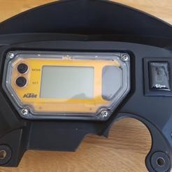 Descargar diseños 3D gratis Bastidor de indicador de marcha Gipro KTM LC8 950 SM, FenixRunner