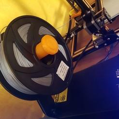 Download free 3D print files Creality CR-10 larger Spool Holder, FenixRunner