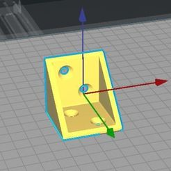 Télécharger fichier impression 3D Winkel 60x60 Aussenmass 4 Schraubenlöcher, alexpaul73