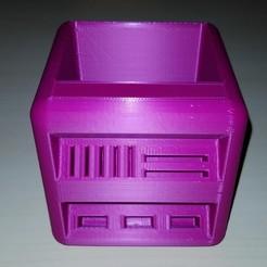 Descargar archivos 3D gratis La cajita: Tarro de lápiz, Emustwin