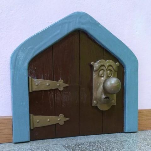 Download free STL file the doorknob - alice in wonderland, sergioinglese
