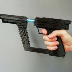 "IMG_20190623_193754.jpg Download free STL file ""V"" the ""Visitors"" Laser Gun • Object to 3D print, nacho3D"