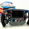 Descargar modelo 3D gratis F1 Mclaren MP4-30 2015 Steering Wheel., nacho3D