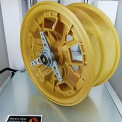 Descargar archivos 3D gratis 1961 Lamborghini Miura llanta, nacho3D