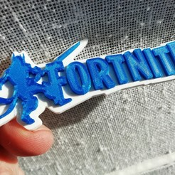 Download free 3D printing files Fortnite keychain The Ice King, nacho3D