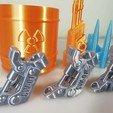 Download 3D printer designs Pen Crawler, ferjerez3d