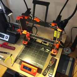 Download free 3D printing templates Clamp Lamp Block for Prusa i3 Mk2, alexwhittemore