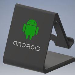 mobile_holder_android.JPG Télécharger fichier STL Version androïde pour téléphone portable / support de tablette • Modèle pour impression 3D, emmanuelgnanasekar