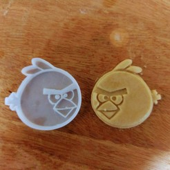Free STL files Angry Bird cookie cutter, emmanuelgnanasekar
