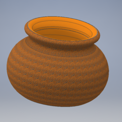 Download free 3D printer files Earthen pot, emmanuelgnanasekar