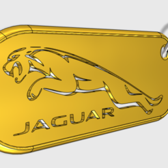 Descargar modelos 3D gratis Llavero del Jaguar, emmanuelgnanasekar