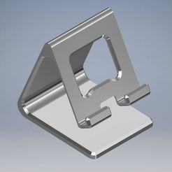 mobile holder1.JPG Download STL file Mobile phone / tablet holder • 3D printing design, emmanuelgnanasekar
