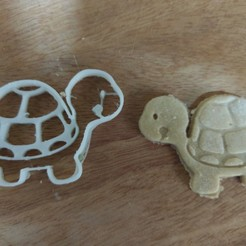Download free STL TURTLE COOKIE CUTTER, emmanuelgnanasekar