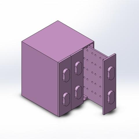 Descargar modelos 3D para imprimir Organizador de Pendientes, czamora2594