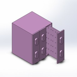 Download 3D printing files Earrings Organizer, czamora2594