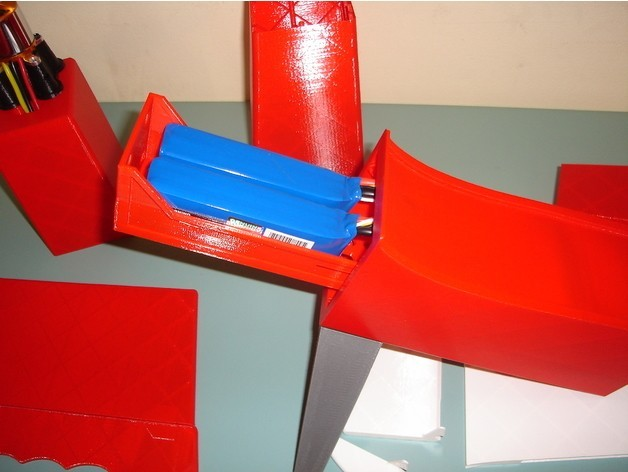 Das_Liddle_Stik2.JPG Download free STL file Das Liddle Stik RC Airplane • 3D print template, aerofred