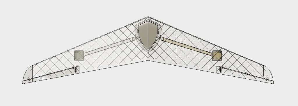 038c5bc29e32f9bef71a2ff5f224777e_display_large.jpg Download free STL file RC Flying Wing - The Klingberg Wing • Object to 3D print, aerofred