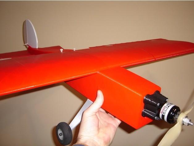 Das_Liddle_Stik15.JPG Download free STL file Das Liddle Stik RC Airplane • 3D print template, aerofred