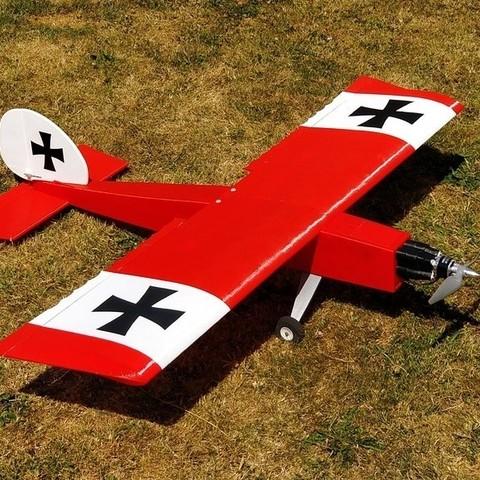 Free 3D printer model Das Liddle Stik RC Airplane, aerofred