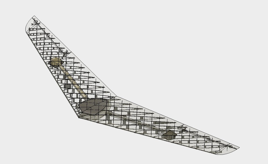 ca764c0f8a1dcefac5c47ccd864f44d5_display_large.jpg Download free STL file RC Flying Wing - The Klingberg Wing • Object to 3D print, aerofred