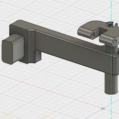 Download free 3D printer designs Logitech c270 Prusa i3 MK2 camera mount Follow Y/Z, aerofred