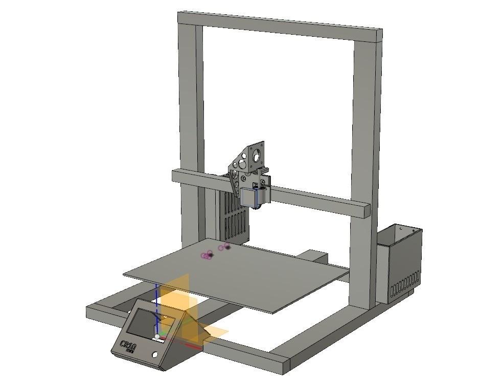 36426f8be484ed6d1da0b8312581863e_display_large.jpg Download free STL file CR-10 or Mini to Prusa i3 conversion kit • 3D print design, aerofred