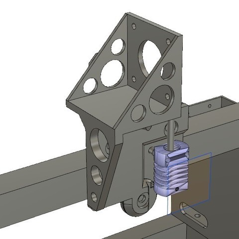 297feb058cb90eb00a1c8c83b914c493_display_large.jpg Download free STL file CR-10 or Mini to Prusa i3 conversion kit • 3D print design, aerofred