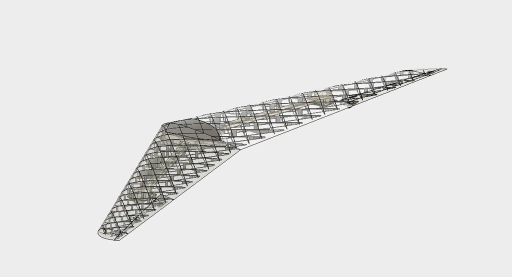 91d9810c2588bec0baa490ae83975db7_display_large.jpg Download free STL file RC Flying Wing - The Klingberg Wing • Object to 3D print, aerofred