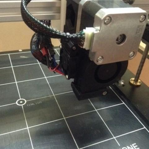 Télécharger fichier 3D gratuit Folgertech FT-5 X Adaptateur de chariot pour extrudeuse Prusa i3 MK2, aerofred