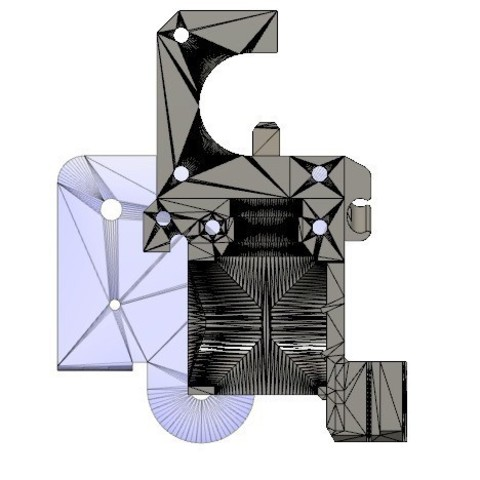 cdd1fe3bfc9e7f77ff8f2eeea130b424_display_large.jpg Download free STL file CR-10 or Mini to Prusa i3 conversion kit • 3D print design, aerofred